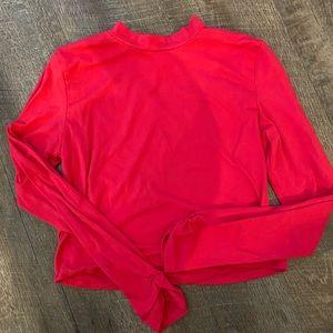 Tops - Hot Pink Long Sleeve